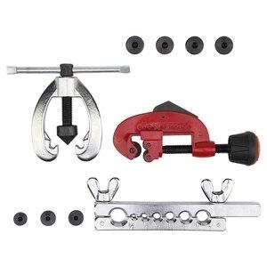 Image 5 - Kit de herramientas de reparación de tuberías de combustible de freno de cobre con doble abolladura