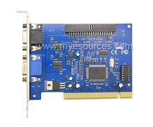 16 Chs video capture Card V8.2 software16 cs video &1chs audio 30fps(NTSC) 25fps(PAL) dvr card for CCTV PC system