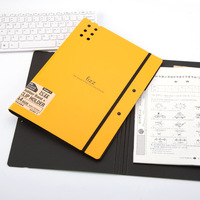 High Quality Candy Color Multifunctional File Folder Plastic Clipboard Exam Paper Document Folder School Supplies