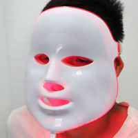 Photodynamic LED Facial Mask Wrinkle Acne Removal Skin Care Anti Aging Mask Therapy 7 Colors Beauty