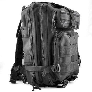 30L Taktische Outdoor Military Rucksäcke Rucksack Camping Wandern Trekking Tasche-Schwarz