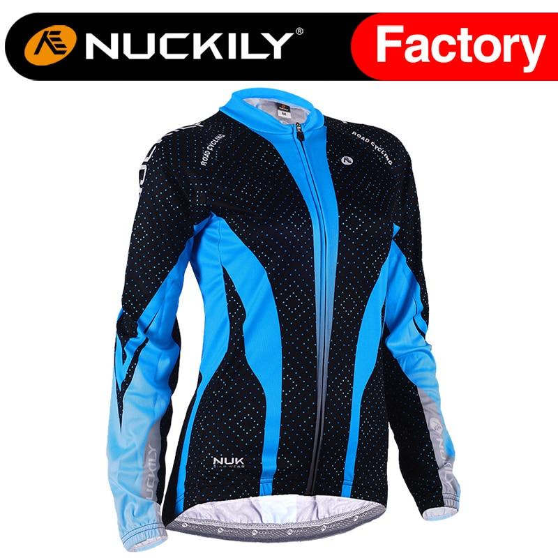 ФОТО Nuckily Women's Winter thermal fabric windproof softshell cycling winter jacket  GE007