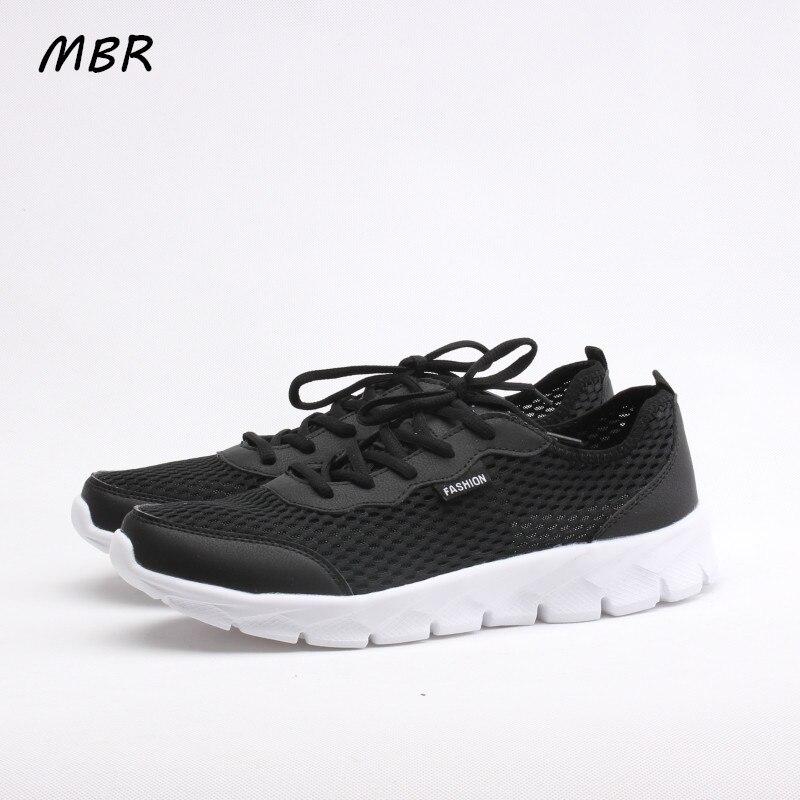 MBR 2017 Nuevos Hombres Zapatos de Impresión Con Cordones Zapatos de Lona de La