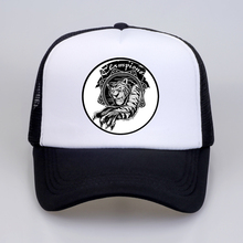 Unisex Fashion Hat For Men And Women Breathable Mesh Lion Embroidery Baseball Caps Snapback Hip Hop Trucker Bone
