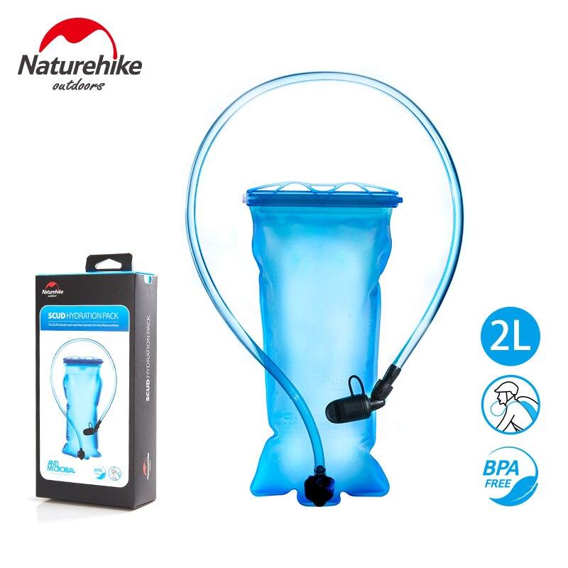 Naturehike PEVA Bladder Hydration Pack Portable Drinking Bag Water Bag Cycling Camping Hiking 1.5L 2L 3L