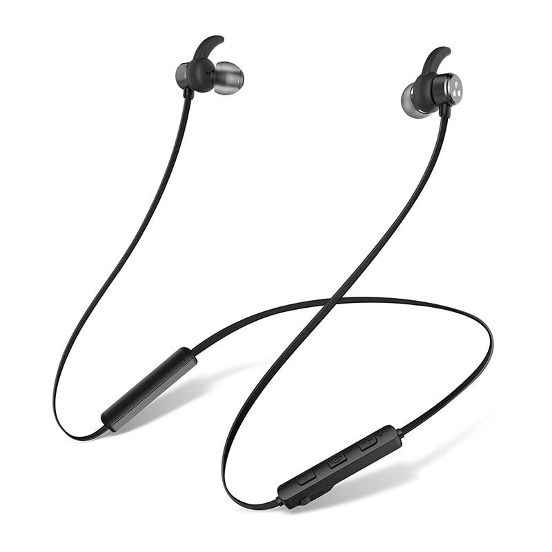 D3X SÍLABA fone de ouvido Bluetooth Estéreo Magnético À Prova D' Água BT 4.2 Música Controle Remoto Microfone fone de Ouvido Bluetooth para IOS Android