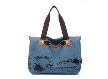 купить 2016  Hot Canvas Women Bag Casual Women Messenger Bags designer brand Vintage Fashion Women's Crossbody Bag Shoulder handbags онлайн