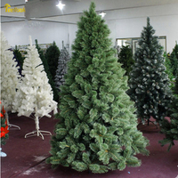 Teellook 1.2 m / 3.0 m flower pine needle Christmas tree Christmas Hotel mall home decoration