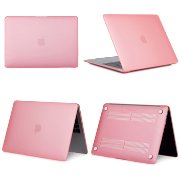 Light Pink Hard Case For Macbook Air & Pro 7