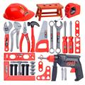 Детский набор инструментов, инструмент для ремонта моделирования, дрель, отвертка, набор для ремонта дома, детский набор инструментов, набо...