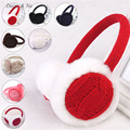Daisy & Na Bow Earlap Ear Winter Muffs Women Faux Fur Warmers Earmuffs Headband Peripheral Random colors are sent 008