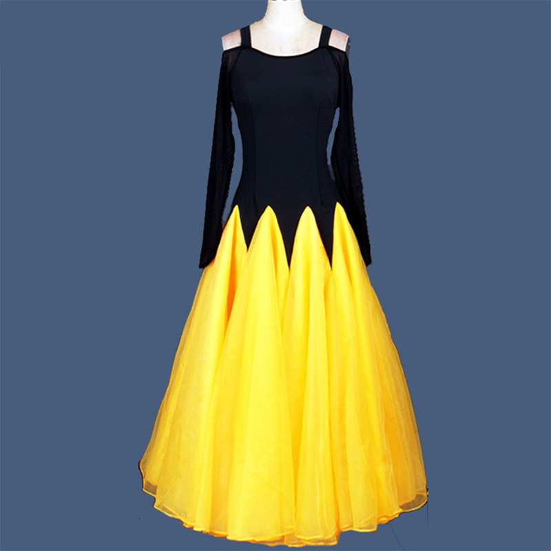 2017 nouvelles robes de danse de salon à vendre valse/Tango/Lulu robe de danse moderne robe de danse sirène Costume jupe DQ19008