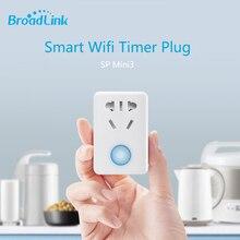 Broadlink SP Mini3 Умный Беспроводной Пульт Дистанционного Управления Разъем Питания Plug Wi-Fi Plug + Таймер + Extender Бытовой техники Автоматизации