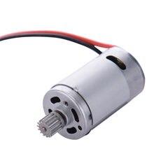 1 pces 15-dj01 390 motor com peças do carro da engrenagem para s911/s912 9115/9116 rc carro 390 motor elétrico escovado substituição do motor