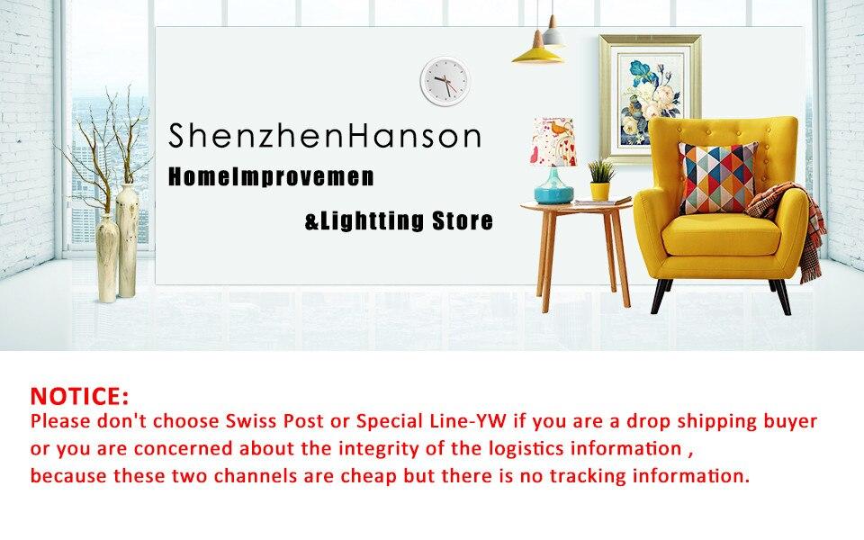 ShenzhenHanson HomeImprovement&Lightting Store
