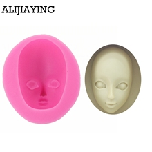 цена M0947 Girl Face Silicone Mold Fondant Mould Cake Decorating Tools Chocolate Gumpaste Molds, Sugarcraft, Kitchen Gadgets в интернет-магазинах