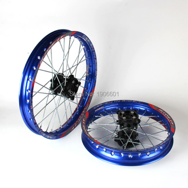 15mm Front 1.60-17 Rear 1.85-14 Alloy Wheel Rim with CNC Hub For KAYO HR-160cc TY150CC Dirt Bike Pit bike 14/17 inch wheel15mm Front 1.60-17 Rear 1.85-14 Alloy Wheel Rim with CNC Hub For KAYO HR-160cc TY150CC Dirt Bike Pit bike 14/17 inch wheel