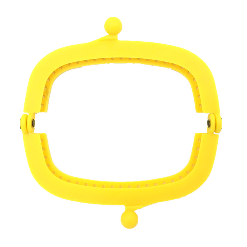 10Pcs Mixed Fashion Plastic Clutch Rectangle Frame Kiss Clasps Clips Buckle Lock Handbag Handles 9x5cm in Buckles Hooks from Home Garden