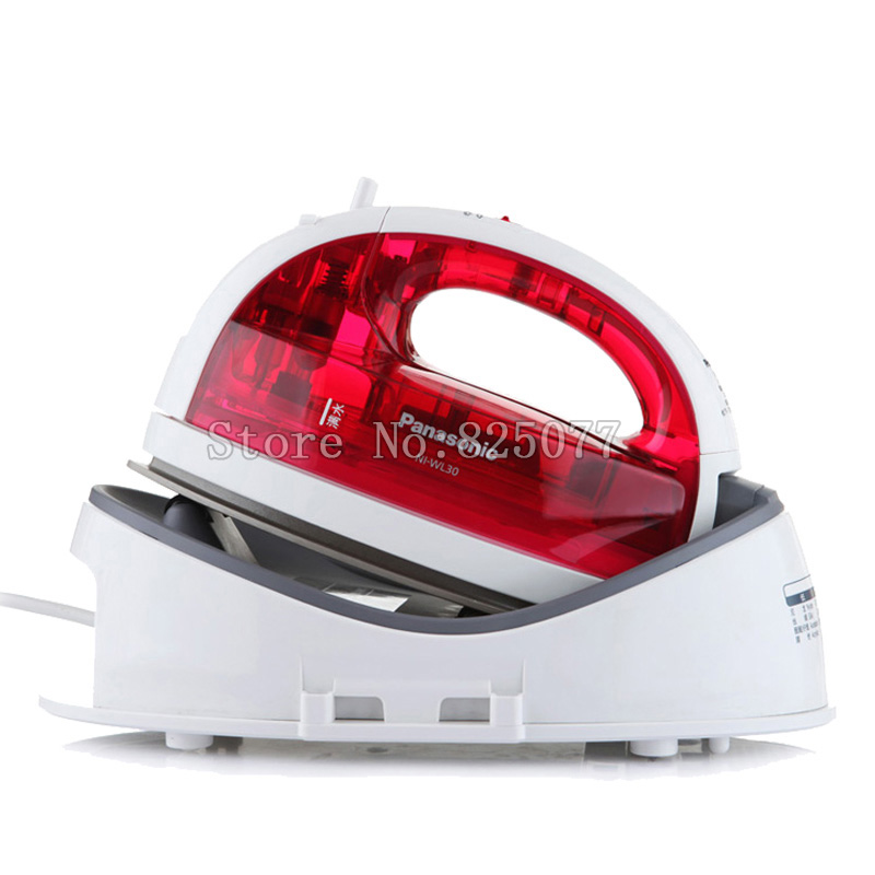 220V/50Hz Cordless Steam Iron NI-WL30 backplane to the spherical 1300W Vertical Garment Steamer Free shipping QH1