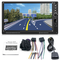 7 Inch Large Display Screen GPS Navigation Car MP4 MP5 DVD Brake Prompt Vehicle Music Player