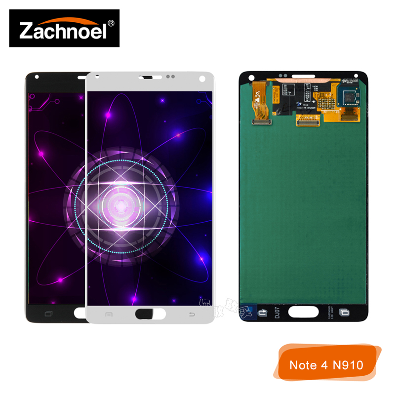 Replacemnt Bildschirm für Samsung <font><b>Galaxy</b></font> Note 4 <font><b>Note4</b></font> N910 N910C N910A N910F N910H <font><b>LCD</b></font> Display mit Touch <font><b>Screen</b></font> Digitizer Montage image