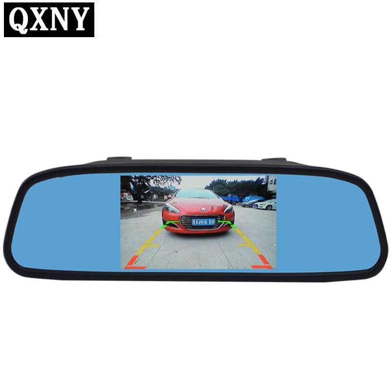 5 zoll TFT LCD bildschirm Auto Monitor Spiegel Umkehr auto Parkplatz System Monitor mit 2 video eingang HD800 * 480 NTSC PAL display