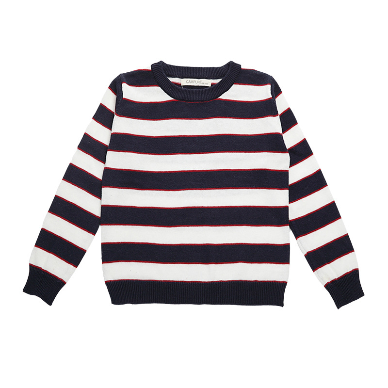 Mother Daughter Matching Clothes Typical Simple BBW Long Sleeves Striped  Pure Cotton Knitted Sweater Baby Girl Top Tee-in Matching Family Outfits  from ...