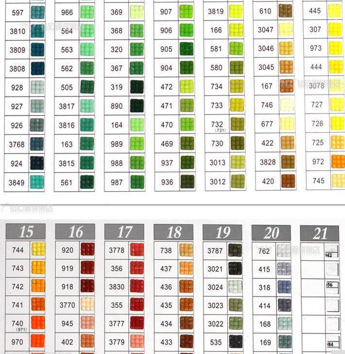 Алмазная вышивка аксессуары оптом квадратные алмазы, 210-230 шт./пакет, круглых бриллиантов, 447 Цвета, бесплатная доставка H1602