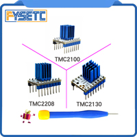 5PCS TMC2100 V1 3 TMC2130 TMC2208 Stepper Motor StepStick Mute Driver Silent Excellent Stability Protection For