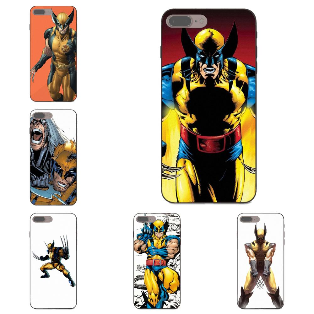 Wolverine Marvel Comic X Man TPU Phone Covers Case For Huawei Honor 6A 7A 7X 8A 8C 8X Mate 9 10 20 P8 P10 P20 P30 Lite Pro 2017 image