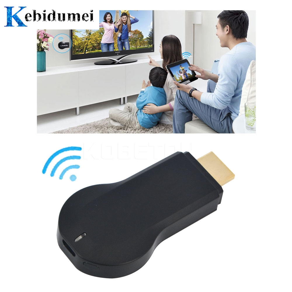 kebidumei 1080P Smart TV Stick Dongle M2 WIFI Media Player Miracast for Windows iOS Android