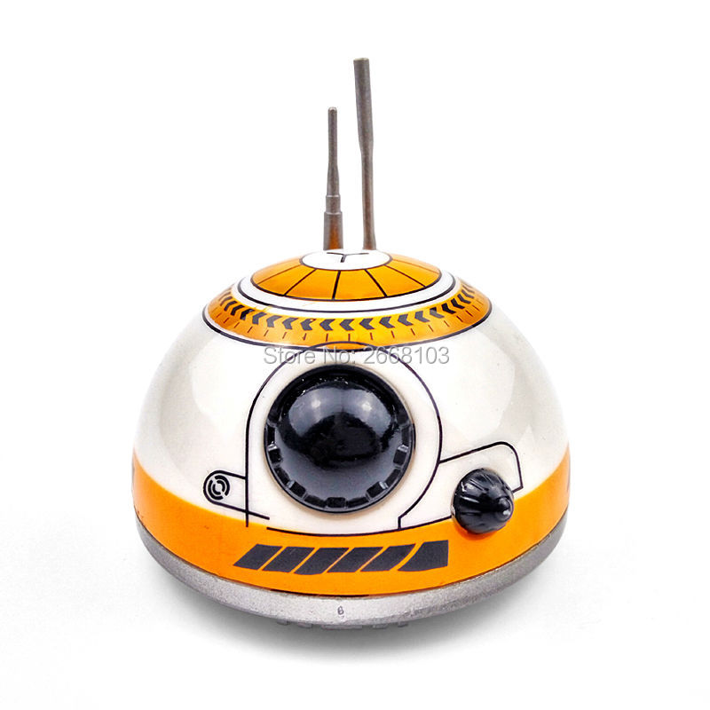Upgrade Model Ball Star Wars RC BB-8 Droid Robot BB8 Intelligent Robot 2.4G Remote Control Toys For Girl Gifts With Sound Action 25