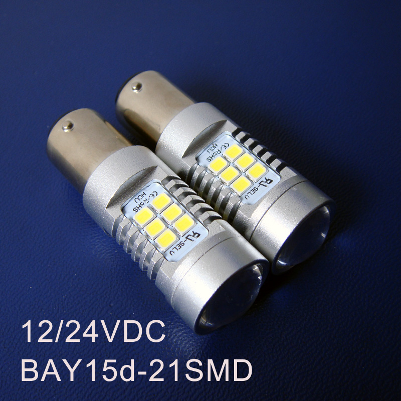High quality 10W 12/24VDC Truck,Freight Car Led Bulbs,BAY15d Led Brake Light 1157 PY21/5W BAZ15d Led Light Bulb Lamp 500pcs/lot