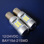 High quality 10W 12/24VDC Truck,Freight Car Led Bulbs,BAY15d Led Brake Light 1157 PY21/5W BAZ15d Led Light Bulb Lamp 500pcs/lot