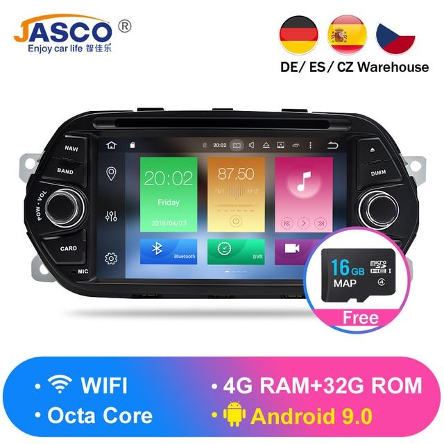 Android 9.0 8.0 2G 4G RAM SAMOCHODOWY ODTWARZACZ DVD słuchawki stereo dla Fiat Tipo Egea 2015 2016 2017 radio samochodowe nawigacja GPS flash 16G 32G