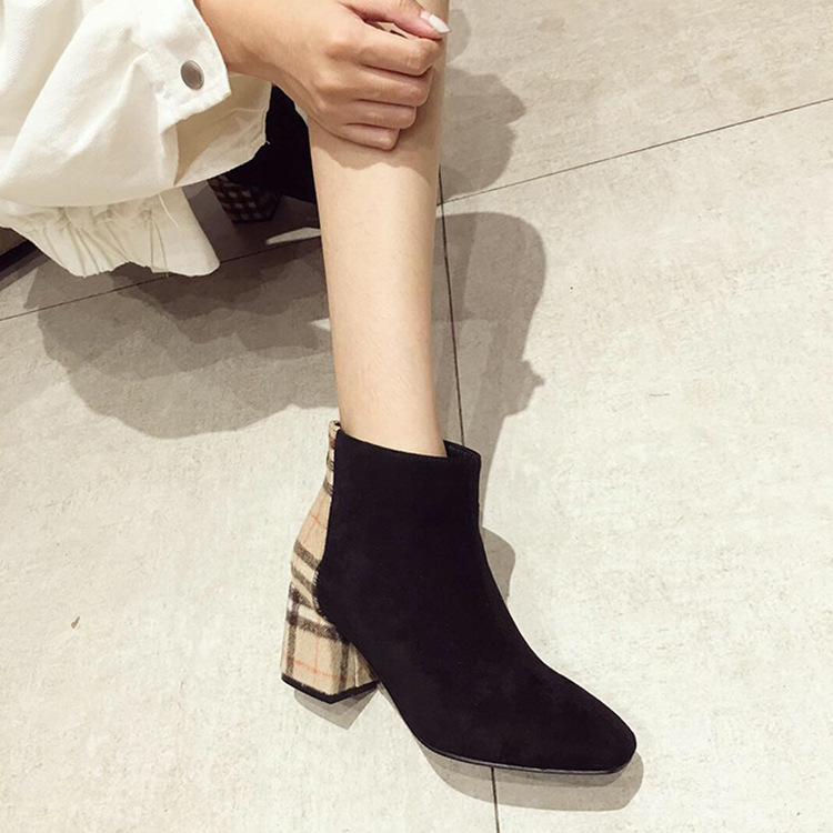 Womens boots ankle 2019 fashion winter womens autumn thick heel shoes womens shoesWomens boots ankle 2019 fashion winter womens autumn thick heel shoes womens shoes