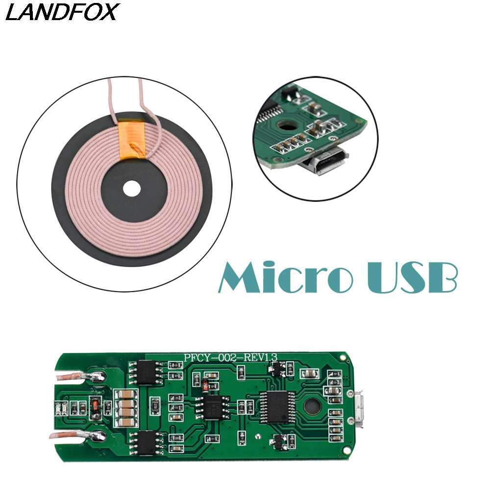 Hot sale Qi Wireless Charger PCBA Circuit Board Coil