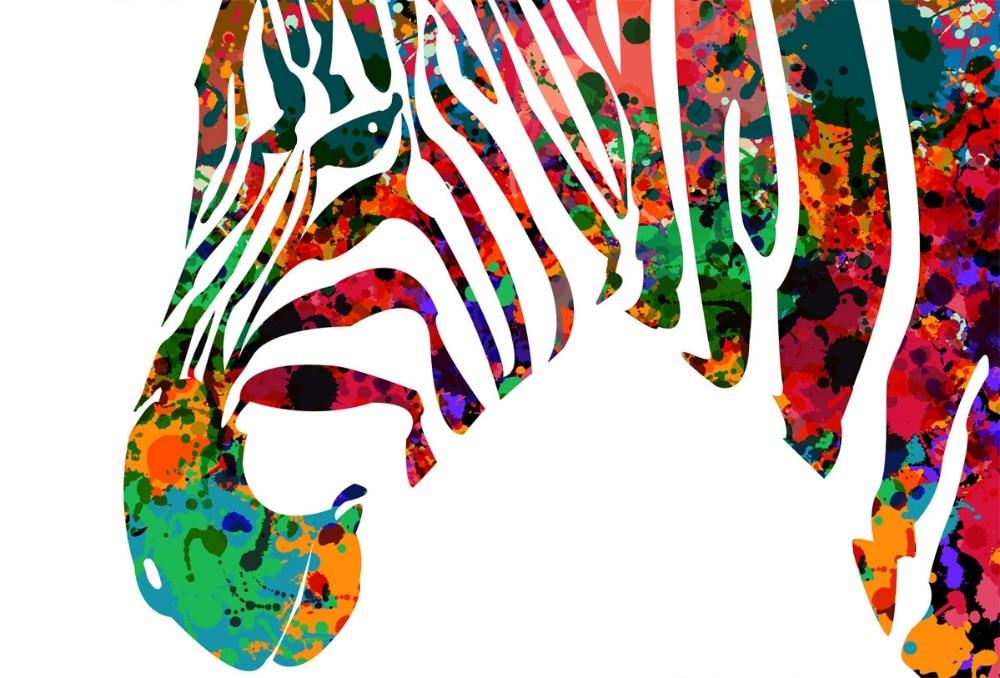 zebra watercolor art print painting wedding gift idea wall art giclee wall decor home decor wall