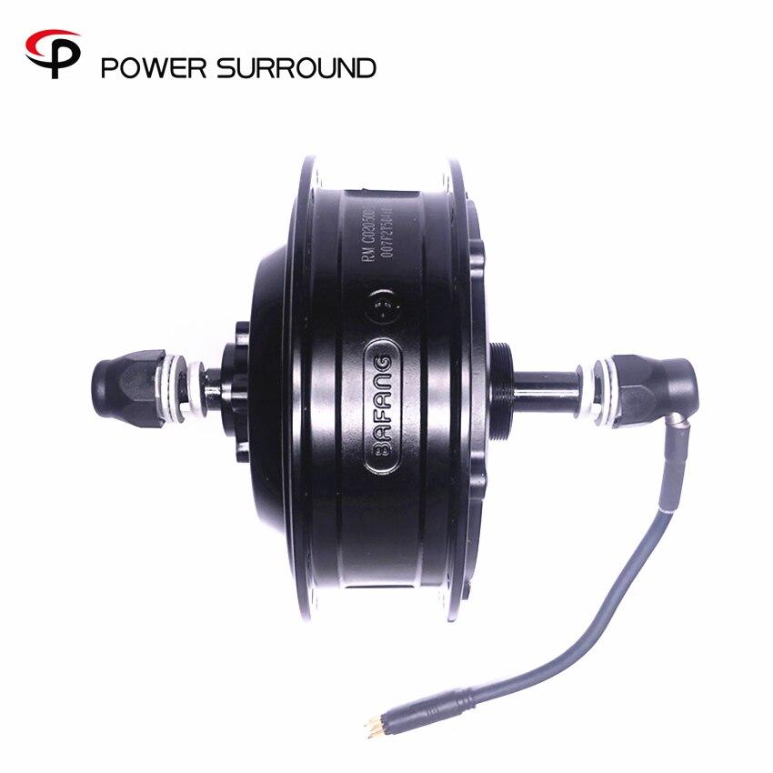 48v 500w Bafang arrière moyeu moteur haute vitesse e-bike moteur roue électrique vélo kit