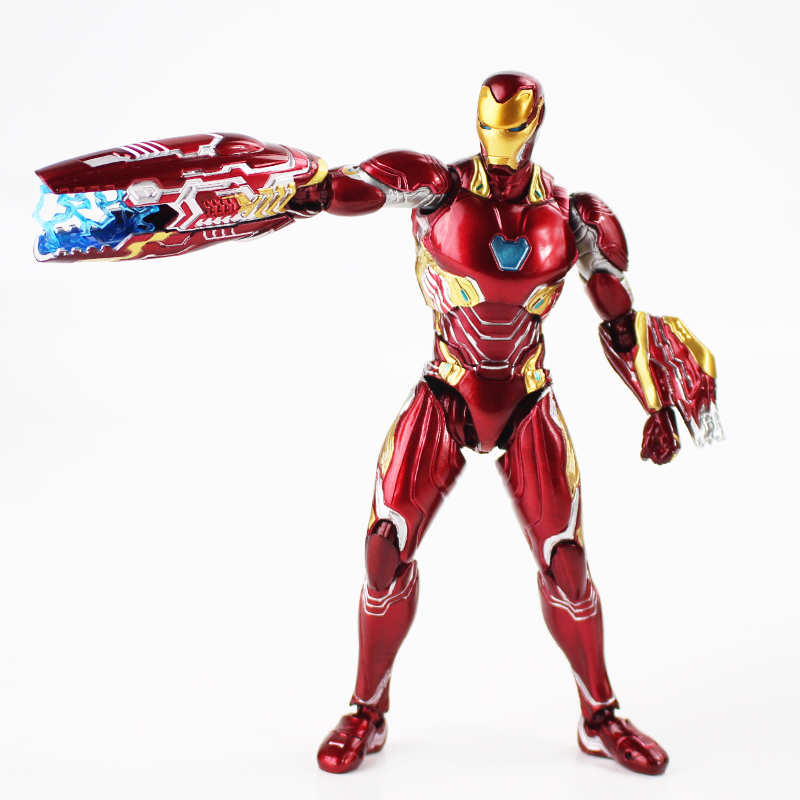 16cm Iron Man MK50 Action Figure Model Toy Hot Movie Infinity War Iron Man figure collection for boys birthday gift16cm Iron Man MK50 Action Figure Model Toy Hot Movie Infinity War Iron Man figure collection for boys birthday gift