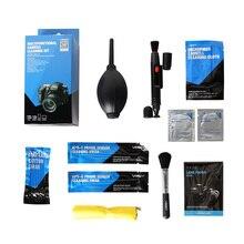 VSGO 9 en 1 appareil photo Kit de nettoyage objectif ventilateur brosse stylo DKL 6 pour Nikon Canon Sony reflex numérique nettoyage