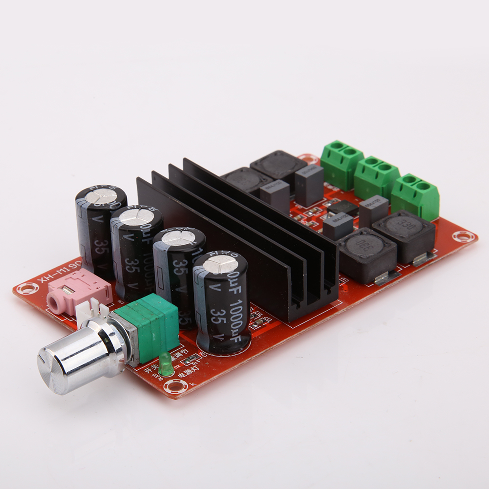 XH-M190 TDA3116D2 High-Power Digital Amplifier Board TPA3116 Dual Track 2 Channel 2x 51K Audio Amplifier Module Parts Component