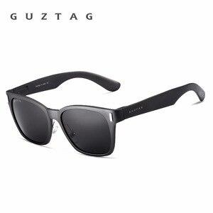 Image 2 - GUZTAG SUNGLASSES Aluminum Square Men/Women  Polarized Mirror UV400 Sun Glasses Eyewear Sunglasses For Men oculos de sol G9260