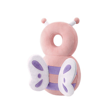 Cute Drop Resistance Cushion Cartoon Animal Baby Head Protection Pad Angel Wings Anti-fall Headrest