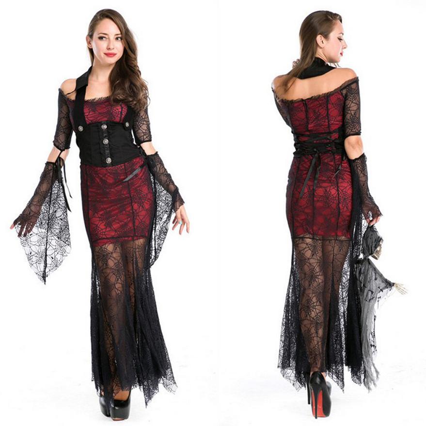 disfraces de halloween para las mujeres diablo vampiro bruja malfica cosplay traje ropa de las muchachas