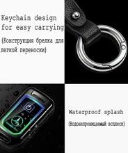 Fashion Design Car Key Electric Lighter Double Arc Plasma