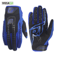 RIDING TRIBE Motorcycle Gloves Men Racing Motocross Full Finger Motocross Country Gloves Wearable Protective Gear Accessories