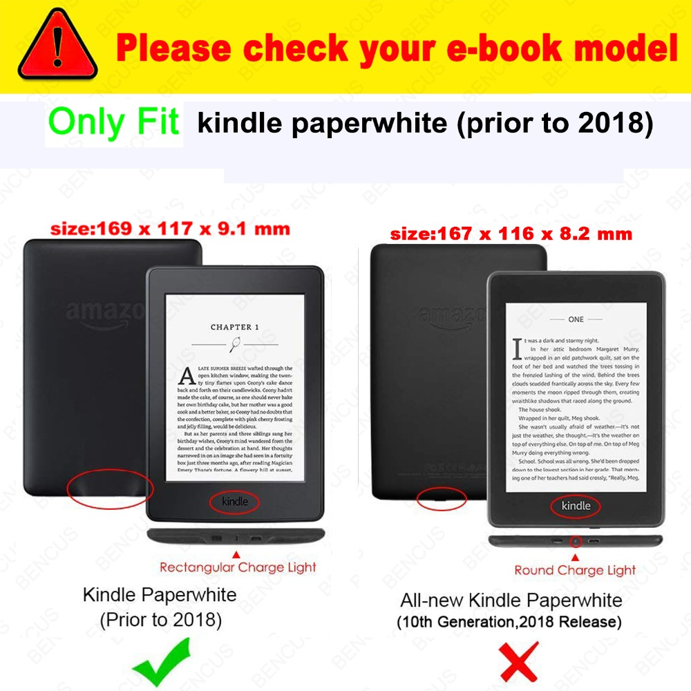 d1c0bebb33 🛒[b6dqm] Kindle Paperwhite 1 2 3 Case E book Cover 2015 2017 ...