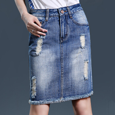Popular Mid Length Denim Skirt-Buy Cheap Mid Length Denim Skirt ...