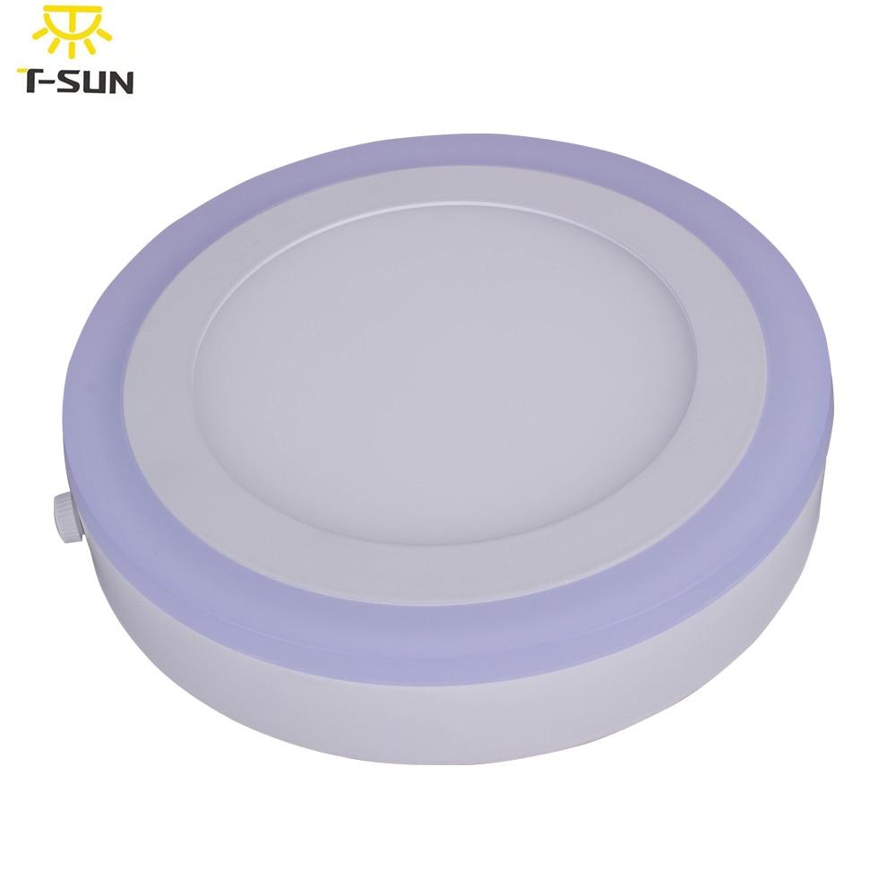 T-SUNRISE Ceiling round 18W led mounted magnetic led panel light round bathroom led panel lights 2835 SMD AC 85V-265V